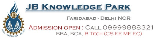 JB Knowledge Park, B Tech college in faridabad, bba college in faridabad, bca colleges in faridabad